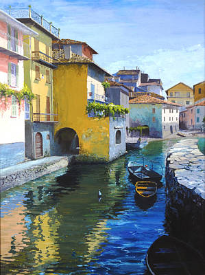 Painting - Como, Italy by Robert Foster