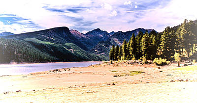 Photograph - Como Lake In Montana by Athena Mckinzie
