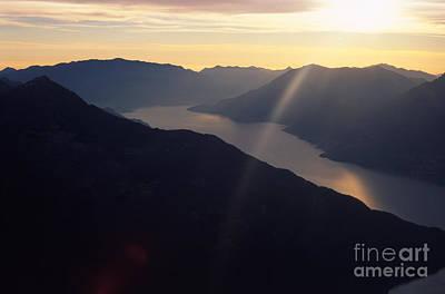 Lago Di Como Photograph - Como Lake by Riccardo Mottola