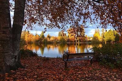Photograph - Como Lake View by Heather Vopni