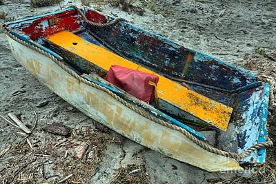 Photograph - Comox Dinghy by Adam Jewell