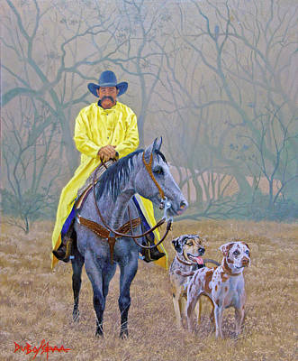 Painting - Compadres by Howard DUBOIS