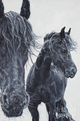 Painting - Compadres by Patricia A Griffin
