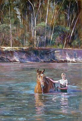 'companions' Art Print