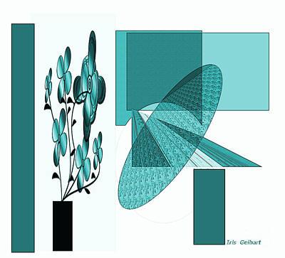 Digital Art - Company Is Coming by Iris Gelbart
