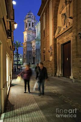 Photograph - Company Street Cadiz Spain by Pablo Avanzini