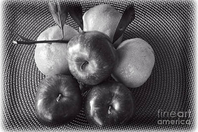 Photograph - Comparing Apples And Oranges by Ella Kaye Dickey