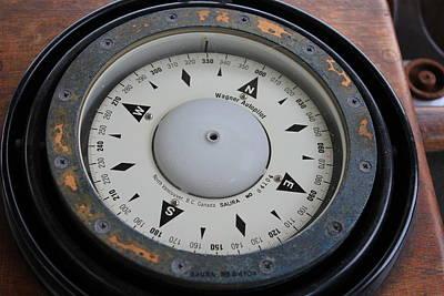 Photograph - Compass by Trent Mallett