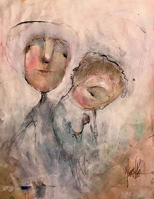 Mixed Media - Compassion by Eleatta Diver