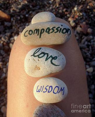 Most Sold Photograph - Compassion Love And Wisdom by Noa Yerushalmi