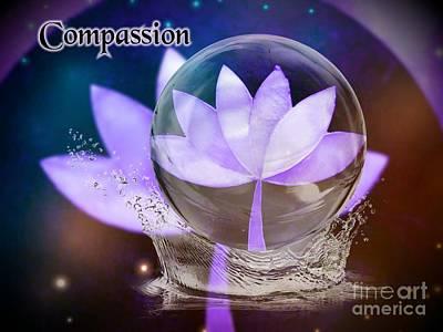Digital Art - Compassion by Rachel Hannah