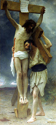 Painting - Compassion by William Adolphe Bouguereau