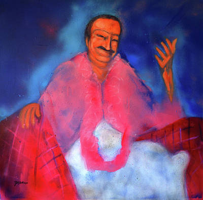 Meher Baba Painting - Compassionate Obne by Joe DiSabatino