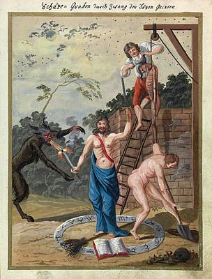 Painting - Compendium Rarissimum Totius Artis Magicae 1057 by Unknown