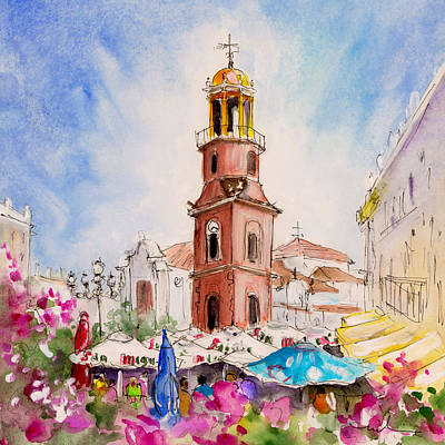 Miguel Art Drawing - Competa 04 by Miki De Goodaboom