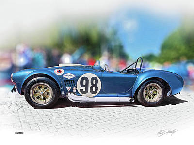 Competition Cobra Art Print