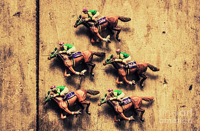 Jockey Photograph - Competition Win Concept by Jorgo Photography - Wall Art Gallery
