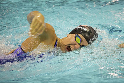 Photograph - Competitive Swimming by Kevin McCarthy