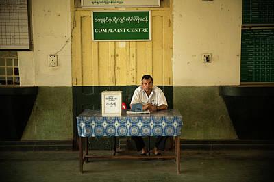 Photograph - Complaint Center by Lucas Dragone