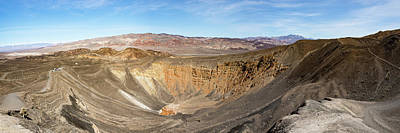 Photograph - Complete Ubehebe Crater  by Michael Bessler