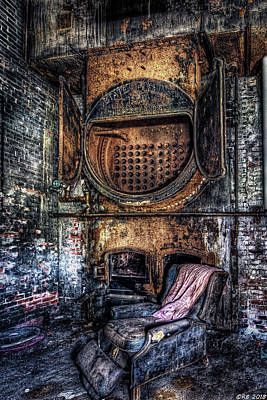Photograph - Completely Burnt Out by Richard Bean