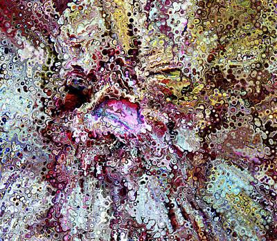 Digital Art - Complex Lesions Abstract by Georgiana Romanovna