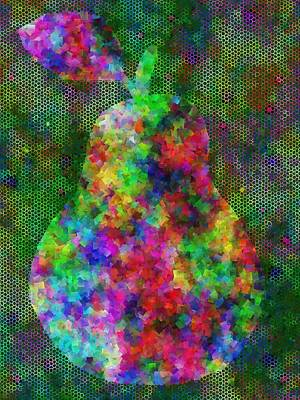 Complex Pear Art Print