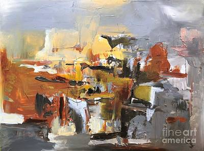 Painting - Complicated by Preethi Mathialagan