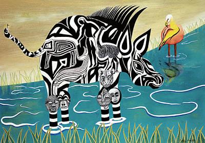 Composed Zebra Original