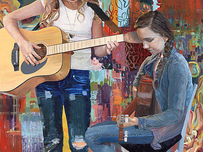 Painting - Composers by GayLynn Ribeira