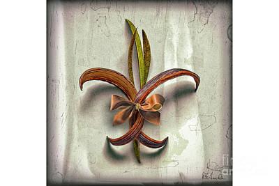 Photograph - Composite Fleur-de-lis Of Oleander by Walt Foegelle