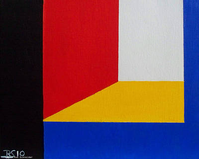 Painting - Composition 1060 by Rod Schneider