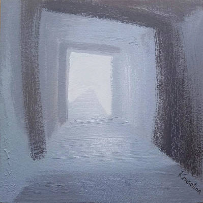 Painting - Composition 33. Series Tunnels. by Lena Krasotina