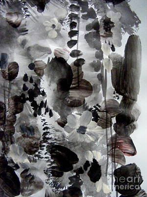 Painting - Composition For Brush by Nancy Kane Chapman