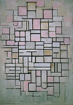Painting - Composition Iv by Piet Mondrian
