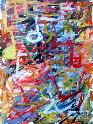 Composition No. 11 Art Print by Michael Henderson