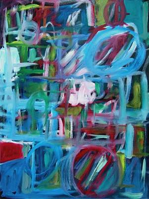 Composition No 2 Art Print by Michael Henderson