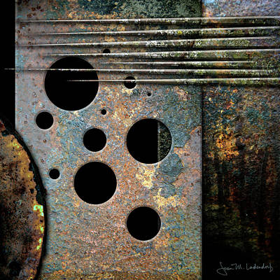 Photograph - Composition With Holes And Spikes by Joan Ladendorf