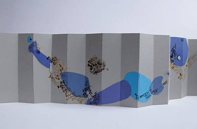 Cardboard Mixed Media - Composition1 by Or Kaminsky