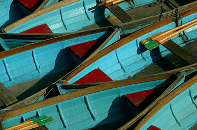 Photograph - Compressed Boating by Jez C Self