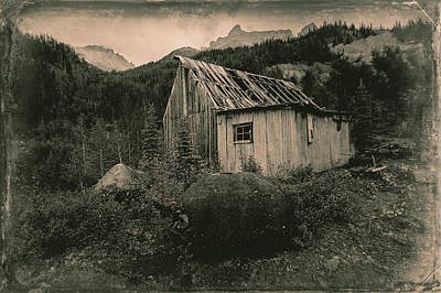 Photograph - Compressor Shack And Blacksmith Shop by Fred Denner
