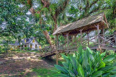 Photograph - Compte Lopinot's Great Plantation House by Nadia Sanowar