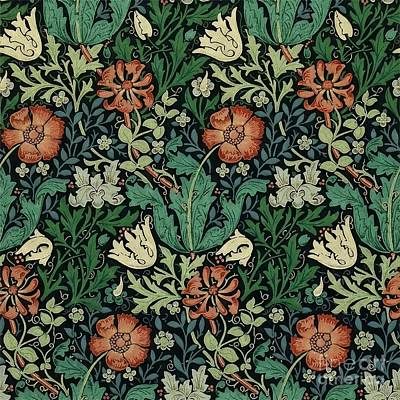 Painting - Compton by William Morris