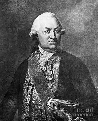 Comte De Grasse (1722-1788) Art Print by Granger