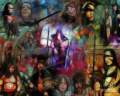 Digital Art - Conan The Barbarian by John Beck