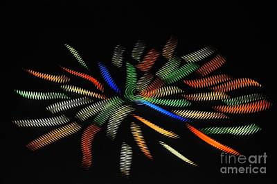 Digital Art - Concentrate And Feel Dynamic Vibration Around You, Good Or Bad Depends On Your Thinking. by Akshay Thaker - PhotOvation