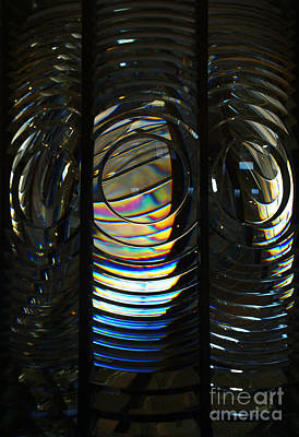 Photograph - Concentric Glass Prisms by Linda Shafer