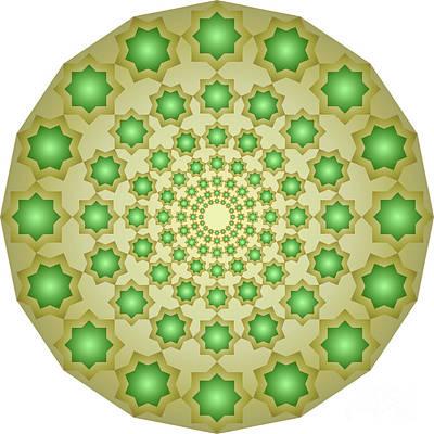 Concentric Octagons 187 Art Print