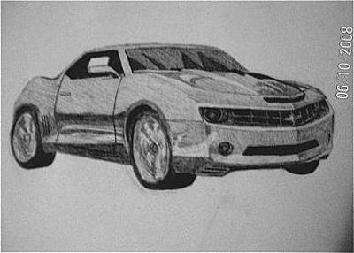 Chevrolet Camaro Drawings Page Of Fine Art America