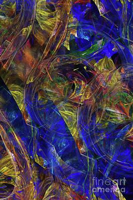 Digital Art - Conception No 2 by Olga Hamilton